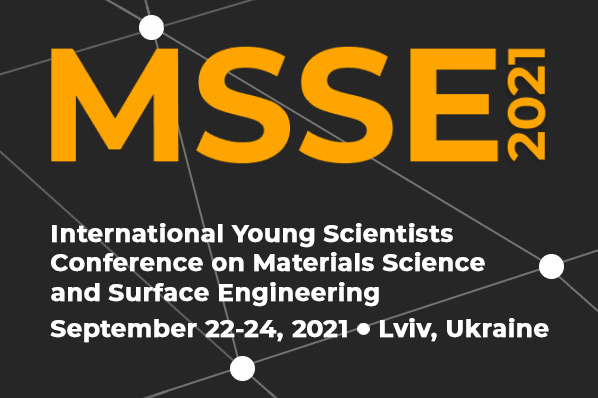 grafika ilustracyjna. MSSE International Young Scientists Conference on Materials Science and Surface Engineering