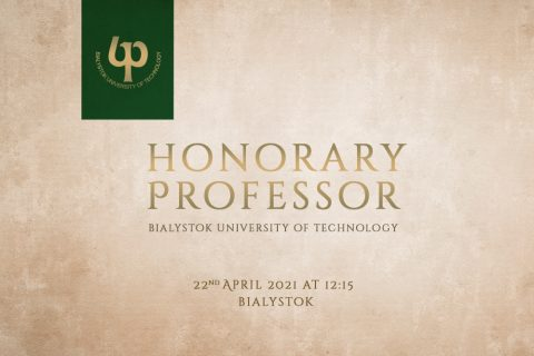Honorary Professor Bialystok University of Technology