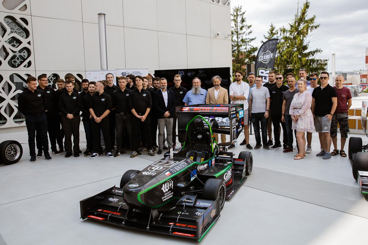 Bolid CMS-07 Formuła Student. Siódme dziecko zespołu Cerber Motorsport, fot. Gabriela Kościuk, Politechnika Białostocka