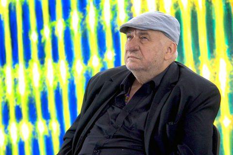 Prof. Leon Tarasewicz, fot. Jerzy Doroszkiewicz, Politechnika Białostocka