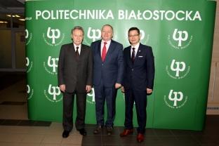 """2018.02.09 """"Sława Inżynierska"""" dla Politechniki Białostockiej"""