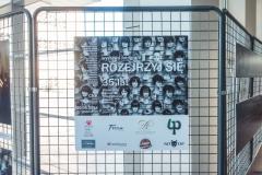 Wystawa jubileuszowa Studenckiej Agencji Fotograficznej PB w holu CNK, fot. Jakub Gwiazdowski