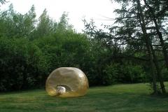 Zbigniew Oksiuta, Spatium Gelatum, Forma 090704, Habitat biologiczny Biennale di Venezia, 9. International Architecture Exhibition, 2004. Twist, Germany 2006. Fot. H.W. Acquistapace, Meppen