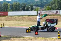 Cerber Motosport na miejscu 6. na Formula Student Italy 2018. facebook.com/CerberMotorsport