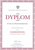 2018-12-05 Prof Kochanowicz_nagroda MNSIW
