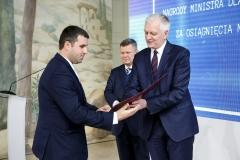 Dr hab. inż. Marcin Kochanowicz, prof. PB otrzymał nagrodę Ministra Nauki i Szkolnictwa Wyższego za osiągnięcia naukowe