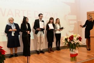 2018-12-19 Studenci inżynierii biometrycznej odebrali nagrody PFRON