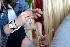 Dziewczyny na politechniki - marschmallow challenge