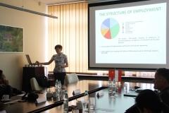Delegacja Ningbo Institute of Technology na PB, Prodziekan WBiIŚ prof. Iwona Skoczko