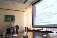 Delegacja Ningbo Institute of Technology na PB, Prodziekan WI PB prof. Dorota Mozyrska