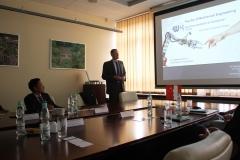 Delegacja Ningbo Institute of Technology na PB, Prodziekan WM prof. Zbigniew Kulesza