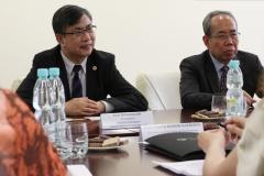 Delegacja Ningbo Institute of Technology na PB