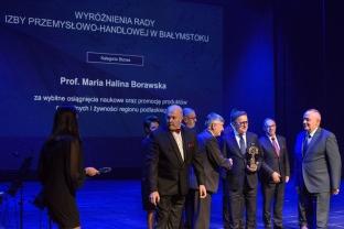 2018_10-03 Rektor PB wyróżniony przez Izbę Przemysłowo-Handlową, fot. Monika Woroniecka