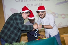 Christmas Meeting with President
