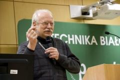 Inspiracje na Politechnice, dr Jerzy Sienkiewicz, Pełnomocnik Rektora Politechniki Białostockiej ds. Współpracy i Rozwoju Kreatywności