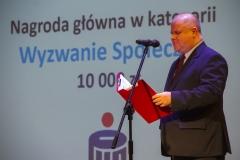 Gala Konkursu Technotalent 2018 - Prezes Zarządu Fundacji Technotalent Adam Walicki