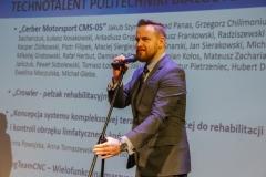 Gala Konkursu Technotalent 2018 - Wiceprezes Fundacji Technotalenty Tomasz Stypułkowski
