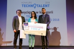 """Gala Konkursu Technotalent 2018 - Technotalent PB - Ewelina Brzozowska, """"Crowler – pełzak rehabilitacyjny"""""""