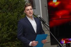 Spotkanie opłatkowe pracowników i studentów Politechniki Białostockiej, Przewodniczący Samorządu Studentów PB Kamil Kulesza