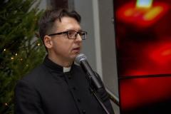 Spotkanie opłatkowe pracowników i studentów Politechniki Białostockiej, ks. Adam Miastkowski