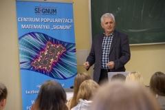 """""""O polskich kryptologach i Enigmie – niemieckiej maszynie szyfrującej"""" –  prof. Czesław Bagiński"""