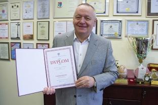 2018_12_20 Rektor nagrodzony przez ministra