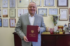 Rektor Politechniki Białostockiej z nagrodą Ministra Nauki i Szkolnictwa Wyższego