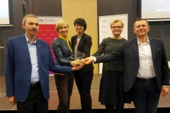 Członkowie Centrum Signum, od lewej: dr Zbigniew Zaczkiewicz, dr Ewa Girejko, dr Marzena Filipowicz-Chomko, dr Anna Poskrobko, dr inż. Rajmund Stasiewicz (kierownik)