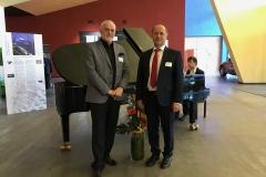 Prof. Kaczyński uczestniczył w benefisie prof. Lothara Krolla, 9 kwietnia 2019 r. Politechnika w Chemnitz