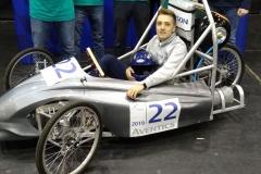Pneumobil studentów Wydziału Mechanicznego wystartował w zawodach Aventics 2019 na Węgrzech