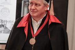 Prof. Uścinowicz otrzymał tytuł honorowego członka Rosyjskiej Akademii Sztuki, 22 maja 2019 r.