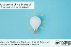 34 startupy rozpoczęły inkubację w ramach Hub of Talents 2 (fot. materiały organizatorów)