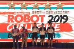 Zespół SumoMasters z Wydziału Mechanicznego PB wystartował na zawodach RobotChallenge w Chinach, 9-11 sierpnia 2019 r.