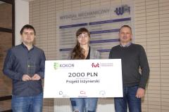 Nagroda Studenckiego Koła Naukowego Technologii i Konstrukcji Biomedycznych-Biotik