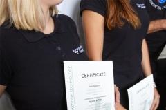 Wręczenie certyfikatów uczestnikom międzynarodowych warszatów studenckich podczas EDD 2019