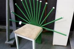 Upcyklingowe meble powstały na międzynarodowych warszatach studenckich