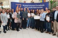 Studenci logistyki nagrodzeni przez firmę Multicco Group, 7 listopada 2019 r