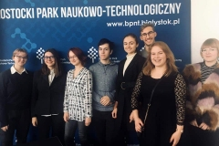 """Uczniowie LO PB otrzymali dyplomy za udział w projekcie """"Talenty XXI wieku"""". 12 listopada 2019 r."""