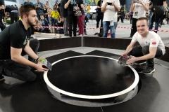 Reprezentanci Politechnikio Białostockiej na zawodach Sumo Challenge 2019 w Łodzi, 7 grudnia 2019 r.
