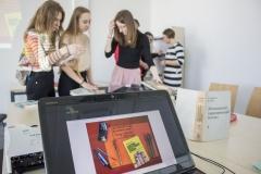 Dni Otwarte Politechniki Białostockiej warsztaty w Bibliotece