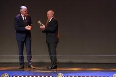 Gala konkursu Podlaska Marka, Jarosław Gowin i Rektor Politechniki Białostockiej prof. Lech Dzienis