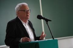 Prezydent Saksońskiej Akademii Nauk Holk Freytag. Konferencja Bauhaus na Wydziale Architektury PB