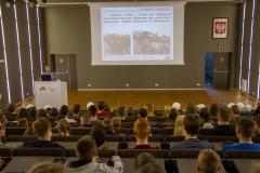 Politechnika Białostocka na PFNiS w Łomży, wykład dr. inż. Andrzeja Borawskiego z WM PB