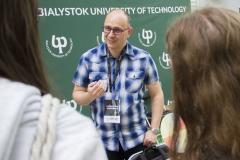 Politechnika Białostocka na PFNiS w Łomży, dr inż. Marcin Sulkowski z WE PB