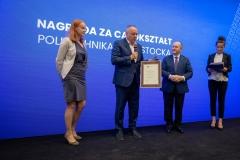 Politechnika Białostocka nagrodzona za działania na rzecz osób z niepełnosprawnościami, K. Zapała/ZBP