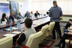 Szósta edycja Konkursu Technotalent - konferencja prasowa na Politechnice Białostockiej