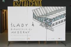 Śladami Białostockiej Moderny - wystawa w CNK PB