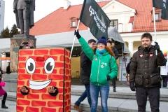Politechnika Białostocka zagrała z WOŚP podczas 28 Finału 12 stycznia 2020 r.