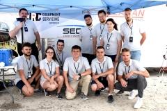 Zespół Argo podczas zawodów Canadian International Rover Challenge