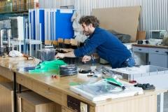 Wydział Mechaniczny produkuje przyłbice medyczne dla szpitali